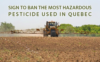 Let's take action to ban atrazine! image