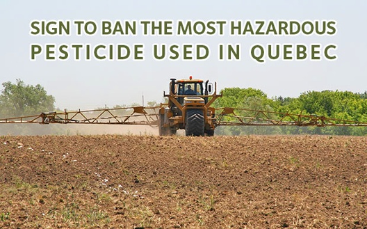 Let's take action to ban atrazine!